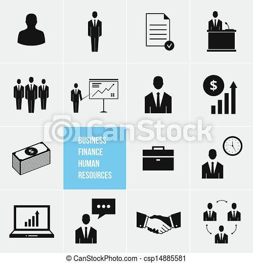 人類, 管理, 事務, resou - csp14885581