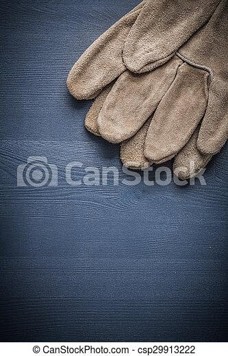 保護, copyspace, 圖像, 木頭, 手套, 板 - csp29913222