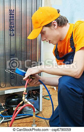 修理, 工作, 用具, 冰箱 - csp6790059