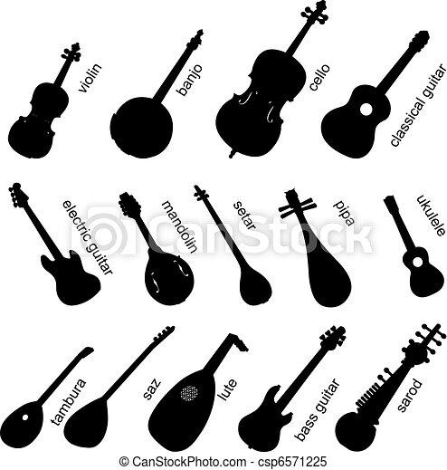 儀器, 集合, 音樂, no.1. - csp6571225