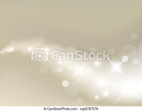 光, 背景, 銀, 摘要 - csp5787576