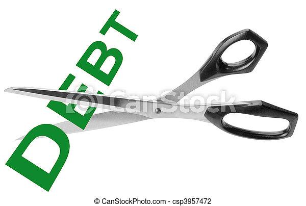 切, 債務 - csp3957472