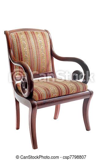 古董, 椅子 - csp7798807