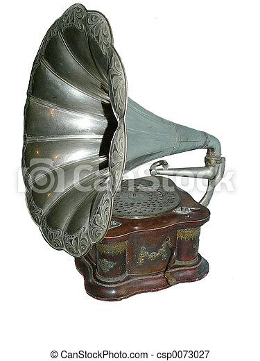 古董, 留聲機 - csp0073027
