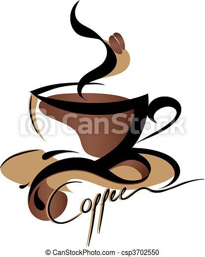 咖啡, 簽署 - csp3702550