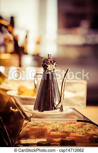 品嘗, 向上, 酒, 托盤, 集合, 瓶子, 裝飾, 酒吧, 餐館 - csp14712662