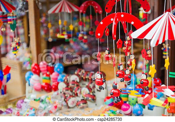 商店, 玩具, 老 - csp24285730