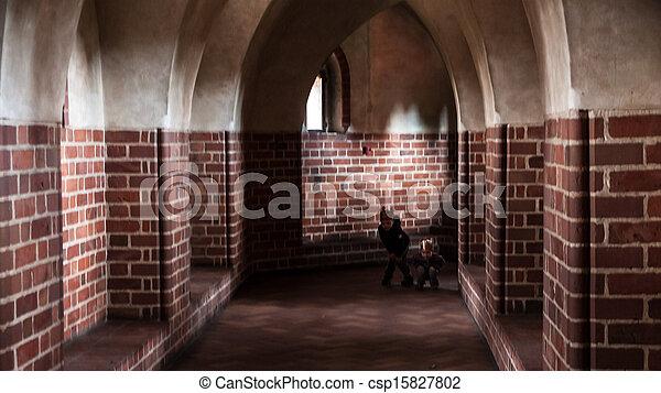 城堡, malbork - csp15827802