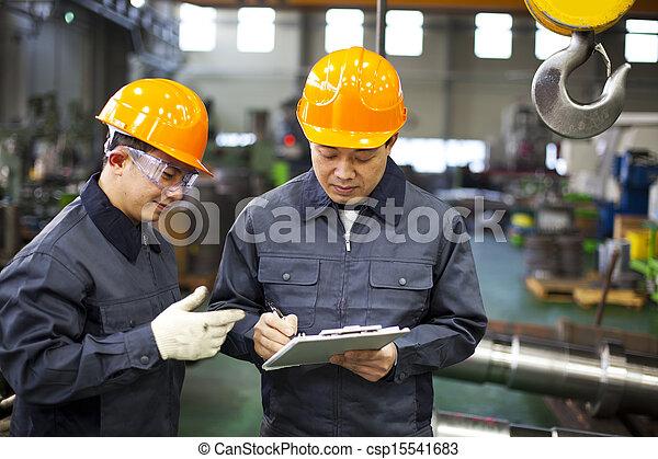 工人, 工廠 - csp15541683