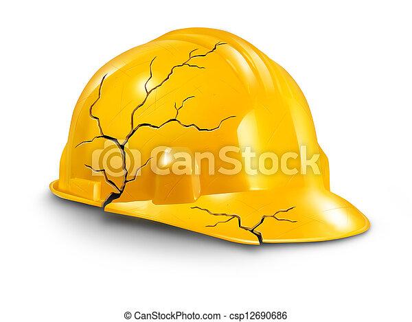 工作, 事故 - csp12690686