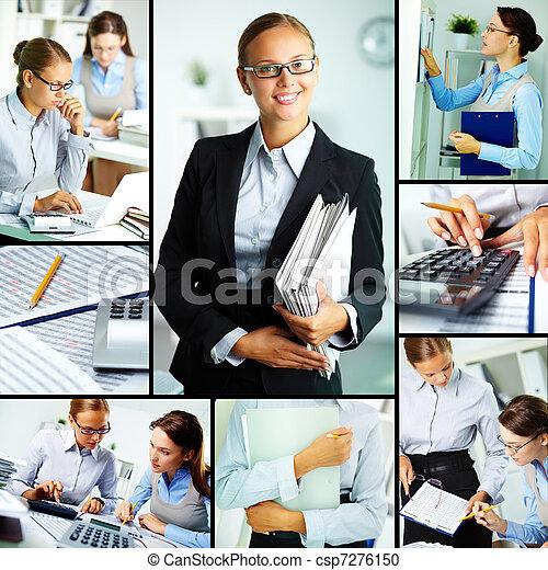 工作, 婦女 - csp7276150