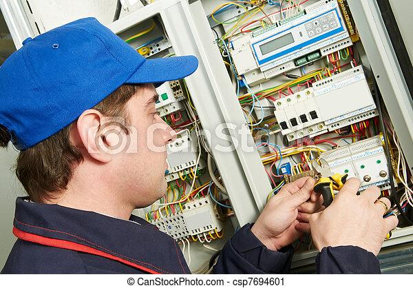 工作, 電工 - csp7694601