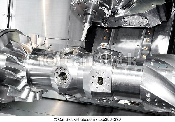 工具, 機器, cnc - csp3864390