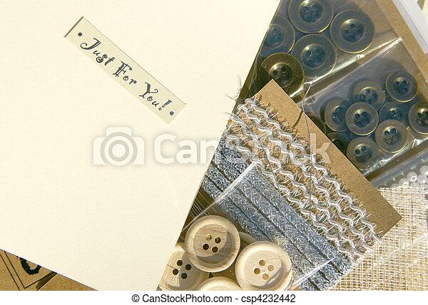 工藝, scrapbooking - csp4232442