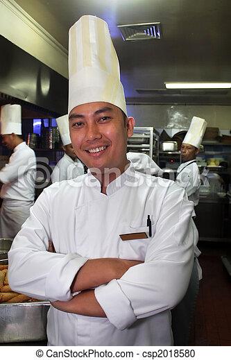廚師, 工作 - csp2018580
