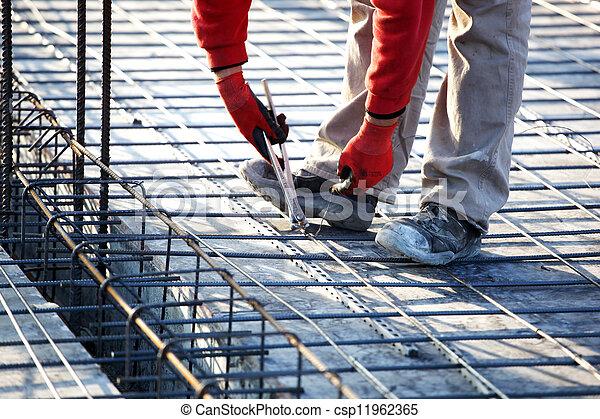 建築工地 - csp11962365