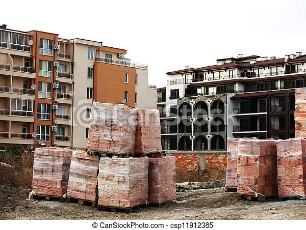 建築工地 - csp11912385