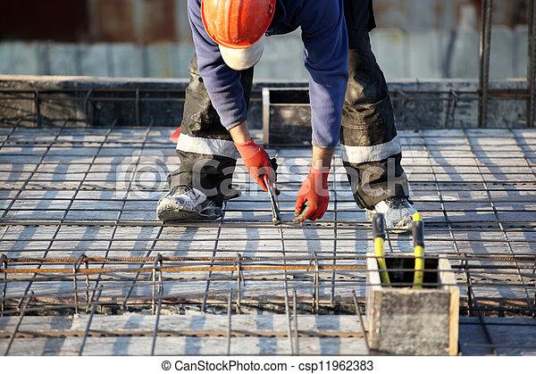 建築工地 - csp11962383