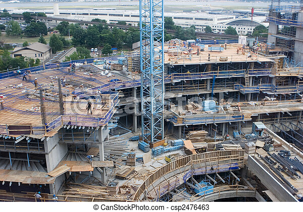 建築工地 - csp2476463