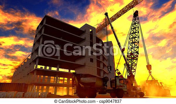 建築工地 - csp9047837
