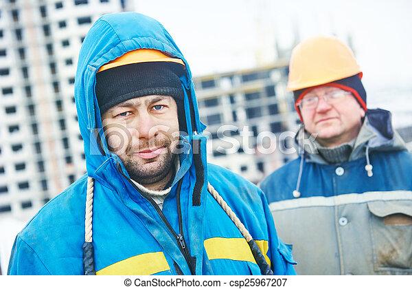 建築物, 領班, 建築工地 - csp25967207