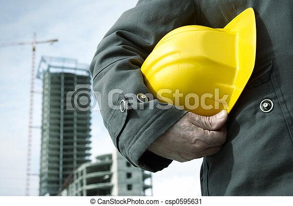 建設, 在下面 - csp0595631