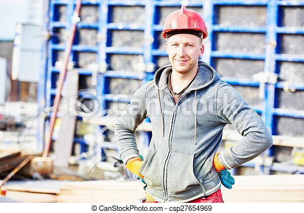 建設, 建造者, 工人, 站點 - csp27654969