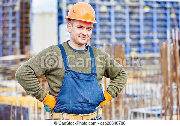 建設, 建造者, 工人, 站點 - csp26640706