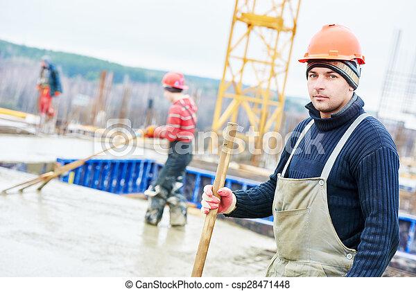 建設, 建造者, 工人, 站點 - csp28471448