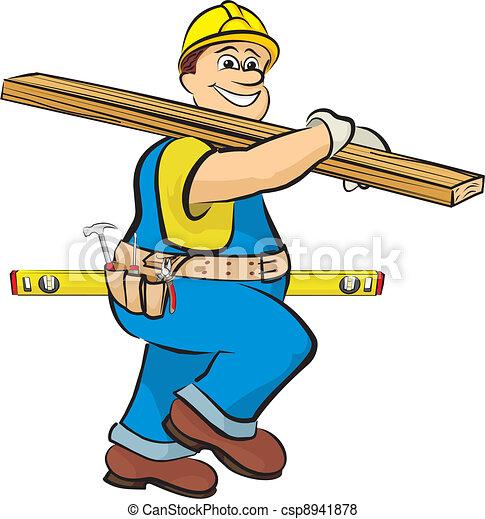 建設, 木匠 - csp8941878