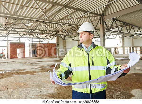 建設, 領班, 建造地點 - csp26698552