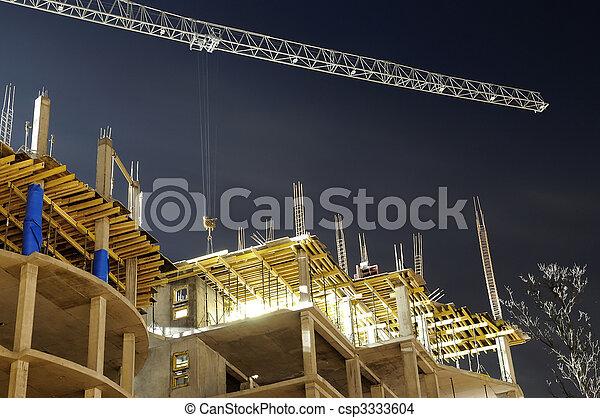 建造建筑物, 站點 - csp3333604