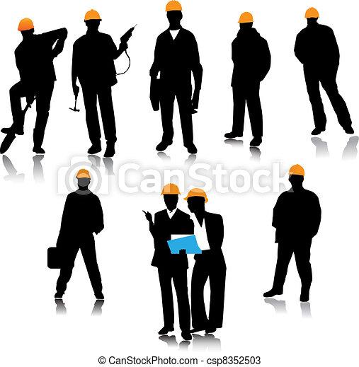 建造者, 人們 - csp8352503