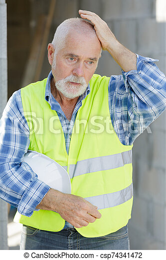 建造者, 工程師, 站點, 建設 - csp74341472