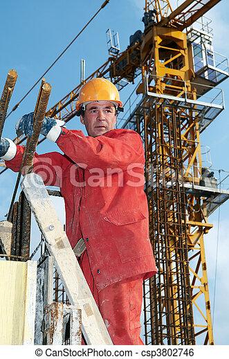 建造者, 建築工地 - csp3802746