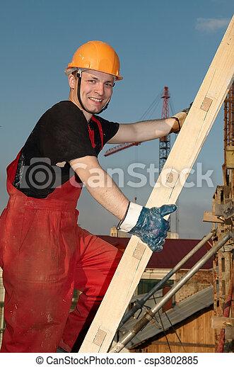 建造者, 建築工地 - csp3802885