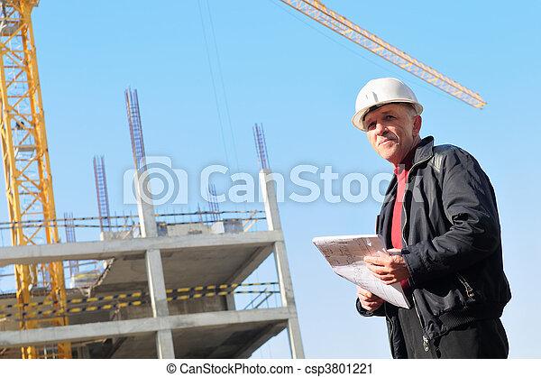 建造者, 建築工地 - csp3801221