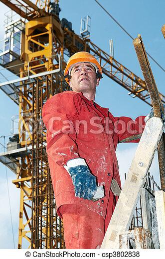建造者, 建築工地 - csp3802838