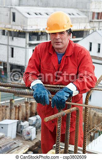 建造者, 建設工人, 站點 - csp3802609