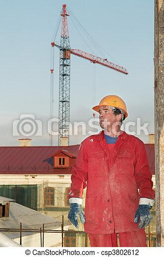建造者, 建設工人, 站點 - csp3802612