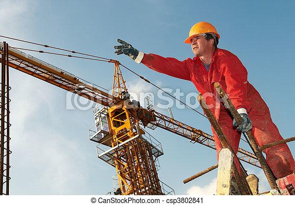 建造者, 建設工人, 站點 - csp3802841