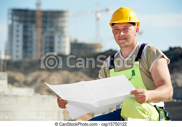 建造者, 建設, 草稿, 站點, 工程師 - csp15750122