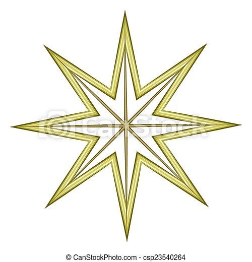 慶祝, 星, 元素 - csp23540264