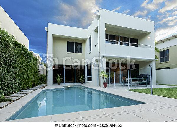 房子, 豪華 - csp9094053