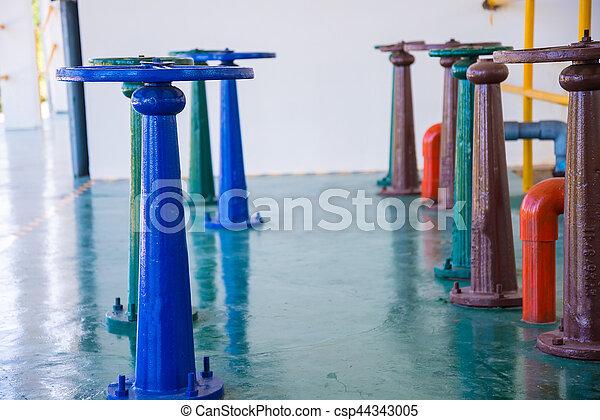 控制, 水, 閥門, 門 - csp44343005