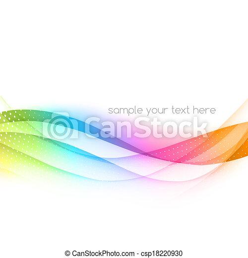 搖動, 摘要, 矢量, 鮮艷, 背景 - csp18220930