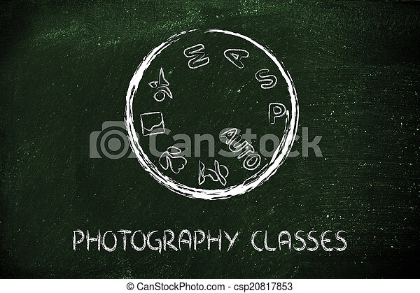 攝影, 照像機, 設計, 撥, 學校 - csp20817853
