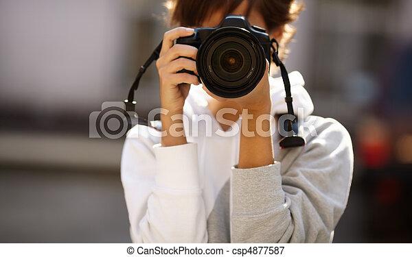 攝影, 街道 - csp4877587
