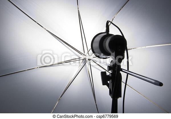 攝影, 集合, 傘, 向上 - csp6779569