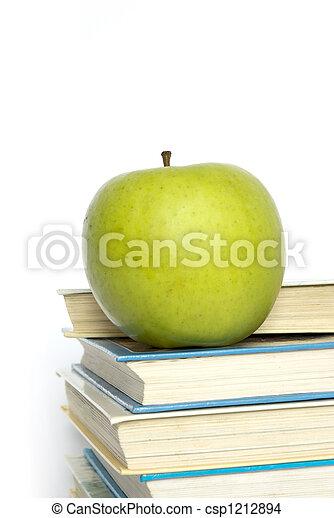 書, 蘋果 - csp1212894